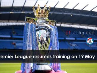Premier League resumes training
