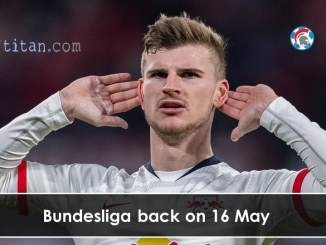 Bundesliga back on 16 May