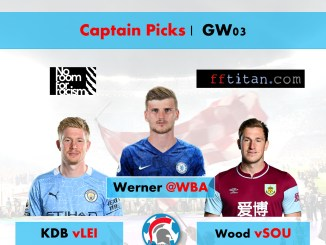 FPL Captain Picks GW03