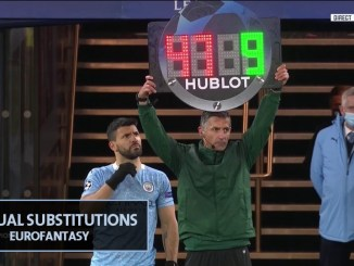 Manual Substitution in Euro Fantasy