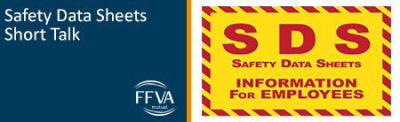 Safety Data Sheets Short Talk