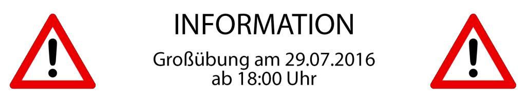 Info Großübung