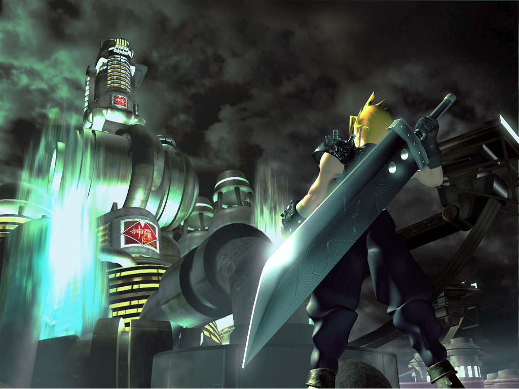 Image result for ffvii wallpaper