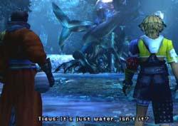 Final Fantasy X 10 FFX FF10 Script Macalania