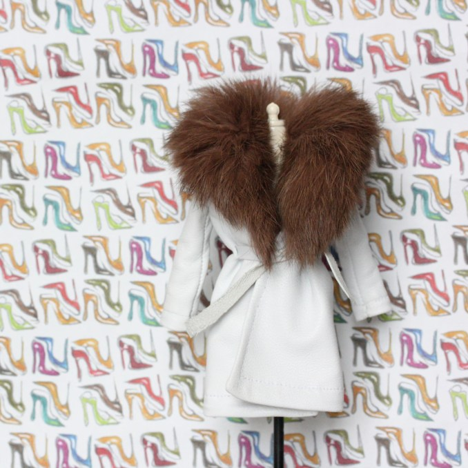 Barbie Ffwr Real fur for dolls