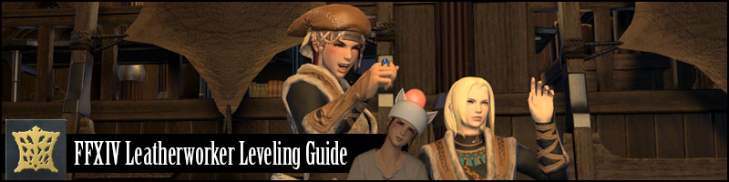 FFXIV Leatherworking Leveling Guide Stormblood Updated