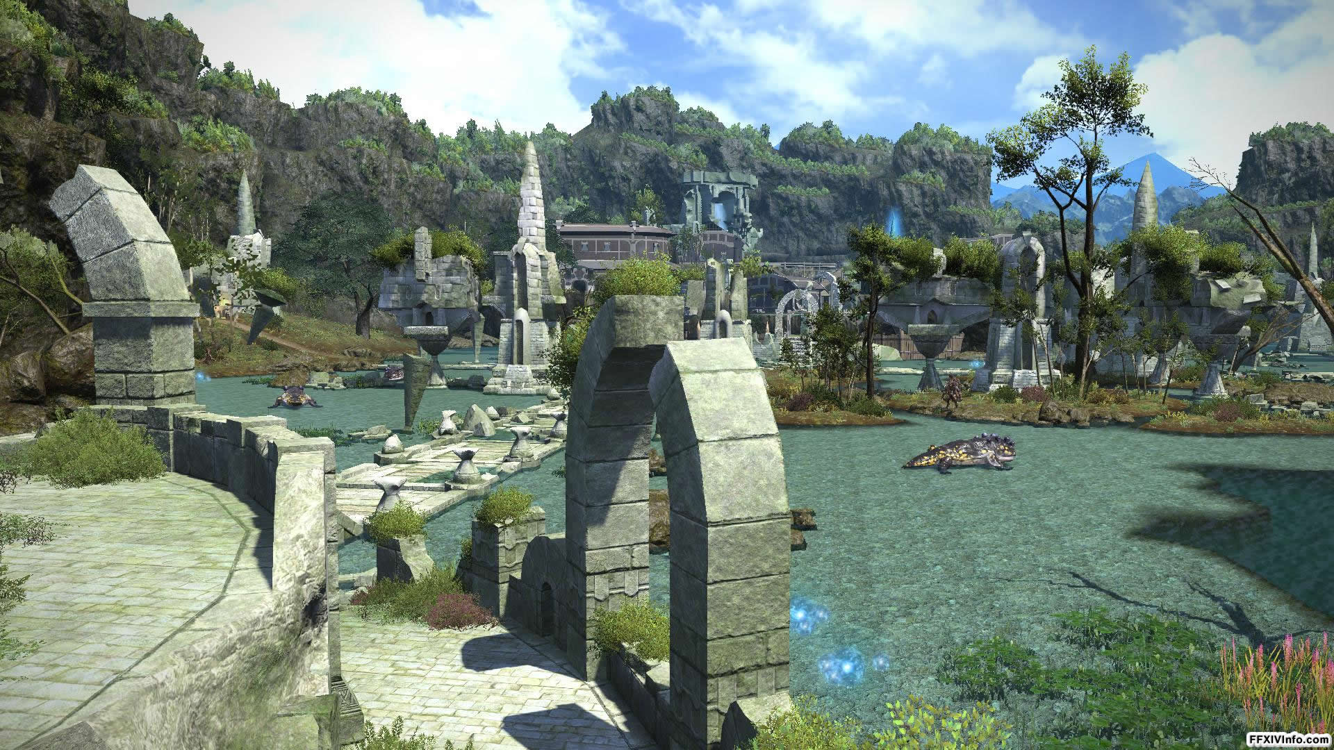Upper La Noscea Maps FFXIV A Realm Reborn Info FF14