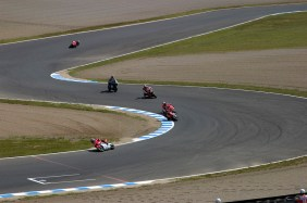 Les 250cc en action