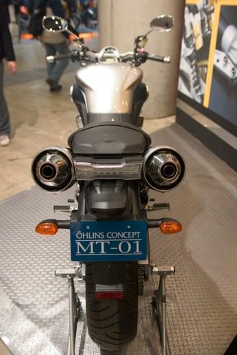 La nouvelle Yamaha MT-01