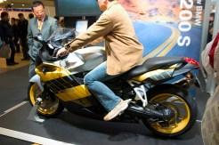 La nouvelle BMW K1200S, superbe moto