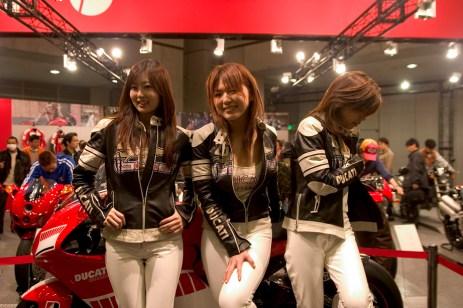Les filles Ducati