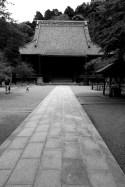 Allée du temple Myohonji de Kamakura
