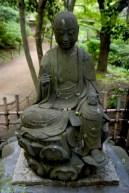 Un dieu Jizo réprésentant la pêche fortuneuse