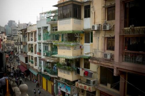 Les rues de Macao, surchargées