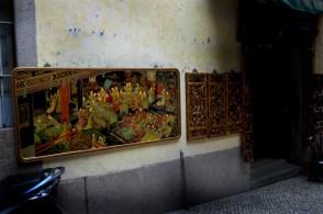 Boutiques d'antiquité dans la vieille ville