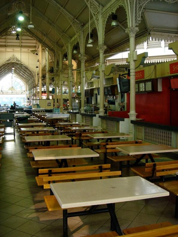 Lau Pa Sat, un Food Court sur Robinson Road