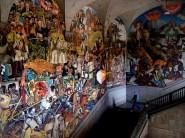 La peinture murale retrace l'histoire du Mexique