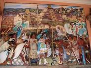 ... retracant l'histoire du Mexique ...