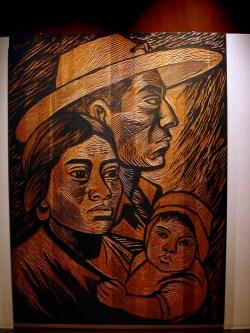 Musée National d'Anthropologie, dans le parc de Chapultepec