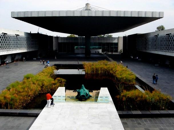 Le Musée national d'Antropologie, dans toute sa grandeur