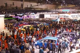 Vue sur le Tokyo Motor Show
