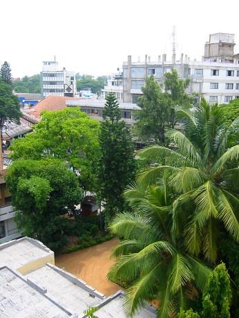 Une autre vue de l'hotel Taj