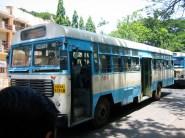 Bus en mouvement