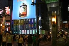 Le samedi soir, Arrivee a OOSAKA, et le quartier anime de Namba. Assez different de Tokyo, base sur une grande gallerie marchande. On s'y perd, mais c'est bien. Direction: les Takoyaki...