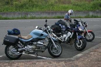 Les motos sont epuisees.
