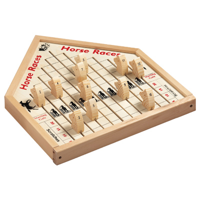 F.G. Bradley's :: Party Games :: Horse Race Wooden Game