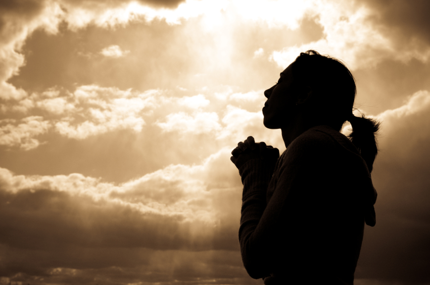 Image result for picture of a woman in prayer