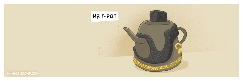mr T pot