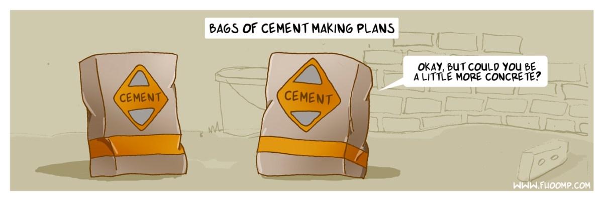 cement