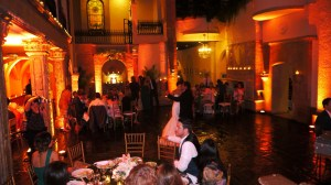 Bride and Groom's First Dance for their Wedding at Las Velas