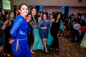 All aunts and uncles dancing at the quince