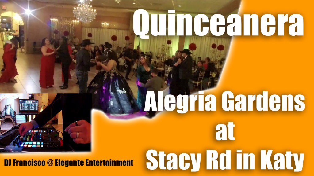 Quinceanera at Alegria Gardens at Stacy RD