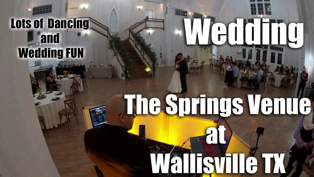 Wedding at The Springs Venue – Wallisville TX  (4k)