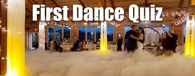 Wedding First Dance Quiz Elegante