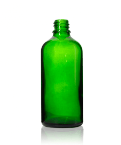 100 ml Euro Round Glass Dropper Bottle with 18-DIN Neck Finish