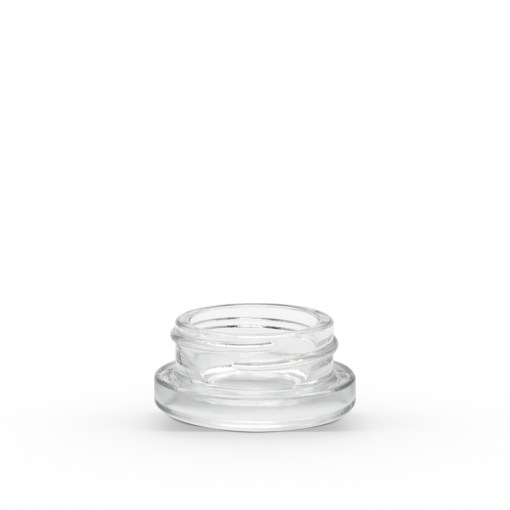 7 ml Clear Concentrate Glass Jar