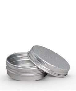 42g Aluminum Tin Jar with Screw On Lid
