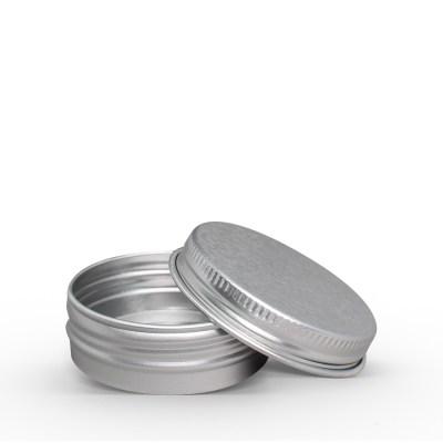 42g Aluminum Tin Jar with Screw On Lid