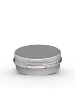 1.5 oz Aluminum Tin Jar with Screw On Lid