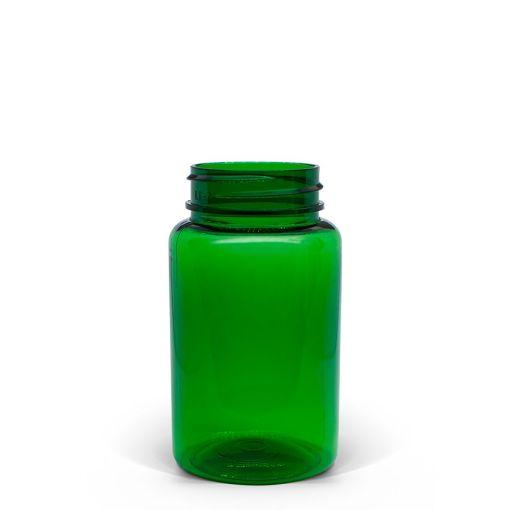 100cc Green PET Packer Bottle 38-400 Neck
