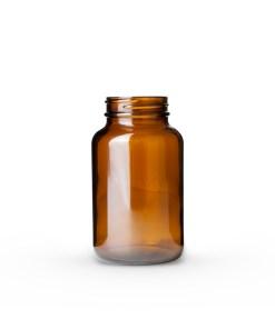 200cc Amber Glass Packer Bottle 45-400 Neck