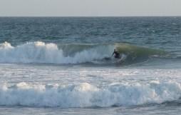 Surfers at Huntington Beach