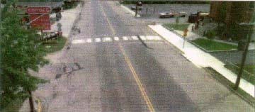 photo: Existing state of State Highway 23 in Rockville, MN
