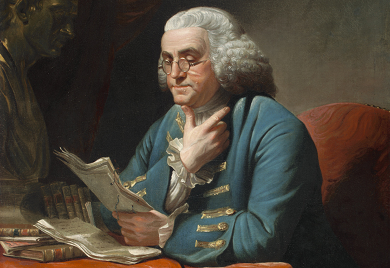 5 Places To See Benjamin Franklin Art