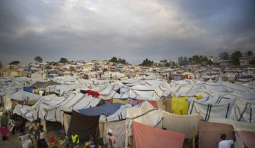 Camp Daihatsu, an internally displaced persons camp in Port-au-Prince - Photo: Talia Frenkel/American Red Cross.