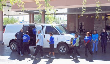 Immigrants detained by sheriff deputies in Maricopa County, Arizona - Photo: José Muñoz.